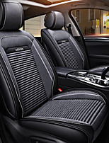 cheap -ODEER Seat Covers Gray Textile PU Leather Common for universal All years All Models