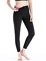 abordables -Femme Pantalon de yoga Des sports Collants Yoga, Pilates, Exercice & Fitness Avion-école, Vestimentaire, Fitness strenchy Couleur Pleine