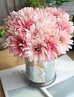 cheap -Artificial Flowers 7 Branch Pastoral Style / Wedding Chrysanthemum Tabletop Flower