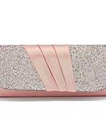 cheap -Women's Bags Others Evening Bag Ruffles Black / Silver / Blushing Pink
