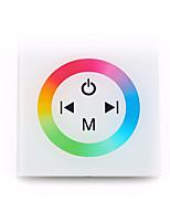 abordables -1pc 12-24V Elégant WiFi Télécommandé RF sans fil Accessoire d'ampoule Contrôleur RGB Verre Plastique pour la lumière de bande de LED RVB