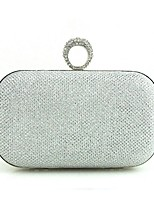 cheap -Women's Bags Others Evening Bag Buttons for Event / Party Black / Silver / Sillver Gray