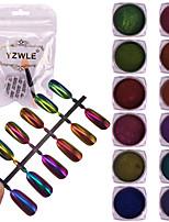 cheap -11pcs Tool Bags Glamorous Glitter Lustrous Wedding Party Dailywear Nail Art Tips Nail Art Design
