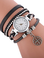 cheap -Women's Quartz Fashion Watch Chinese Casual Watch PU Band Bohemian Fashion Black White Blue Red Green Pink Beige