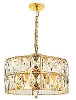Недорогие -QIHengZhaoMing 6-Light Кристаллы Люстры и лампы Рассеянное освещение - Хрусталь, 110-120Вольт / 220-240Вольт, Теплый белый, Лампочки