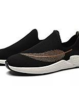 cheap -Men's Elastic Fabric Fall Comfort Sneakers Gray / Red / Khaki