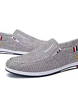 cheap -Men's Shoes Canvas Spring Fall Light Soles Loafers & Slip-Ons for Casual Dark Blue Gray Light Blue