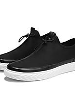 Недорогие -Муж. обувь Резина Весна / Лето Удобная обувь Кеды Черный / Красный / Черно-белый