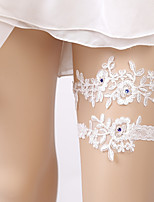 cheap -Lace Unique Design Wedding Wedding Garter 617 Rhinestone Lace Garters Unique Wedding Décor Wedding Special Occasion