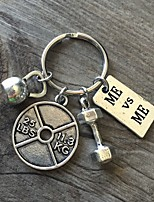 cheap -Sports Keychain Favors Chrome Keychain Favors - 1pcs All Seasons