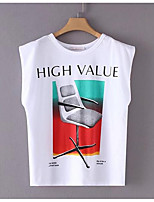 cheap -Women's Street chic T-shirt - Geometric