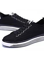 cheap -Men's Shoes PU Spring / Fall Comfort Sneakers Black
