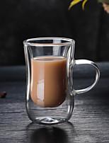 cheap -Drinkware High Boron Glass Glass Portable Girlfriend Gift Boyfriend Gift Heat-Insulated Cute 1pcs
