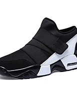 cheap -Men's Shoes Tulle Spring Comfort Sneakers for Casual White Black Red