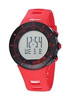 abordables -SHIFENMEI Hombre Mujer Digital Reloj de Moda Reloj Deportivo Reloj Casual Japonés Calendario Resistente al Agua Esfera Grande Reloj Casual