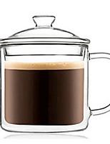 abordables -Drinkware Verre à haute teneur en bore Verres Tasse Athermiques 1pcs