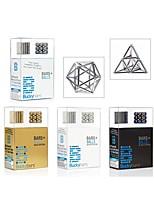 Недорогие -63 pcs Магнитные игрушки Магнитный пластилин Магнитная игрушка Магнитные шарики Современный Классика Магнитный тип Стресс и тревога помощи Фокусная игрушка Классика Архитектура Прямоугольник