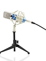 abordables -KEBTYVOR BM700+PC03 Câblé Microphone microphone studio Microphone à Condensateur Microphone à Main Pour Microphone d'Ordinateur