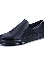 Недорогие -Муж. обувь Полиуретан Весна / Осень Удобная обувь Кеды Белый / Черный / Черно-белый