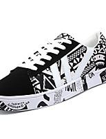abordables -Homme Chaussures Cuir Nubuck Printemps / Automne Confort Basket Noir / blanc / Noir / Rouge / Noir / bleu.