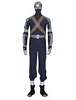 abordables -Inspiré par Naruto Hatake Kakashi Manga Costumes de Cosplay Costumes Cosplay Autre Manches Longues Haut Pantalon Ceinture Plus