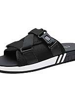 cheap -Men's Shoes Tulle Summer Light Soles Slippers & Flip-Flops for Casual Black