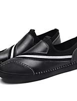 abordables -Homme Chaussures Cuir Printemps Automne Moccasin Mocassins et Chaussons+D6148 pour Décontracté Noir Gris Bourgogne