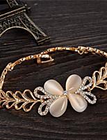 cheap -Women's Bracelet - Sweet Four Leaf Clover Gold Bracelet For Party Gift