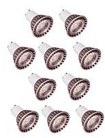 abordables -10pcs 5W 400lm GU10 GU5.3 Spot LED 1 Perles LED COB Blanc Chaud Blanc Froid 85-265V