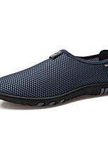 abordables -Homme Chaussures Tulle Eté Automne Confort Mocassins et Chaussons+D6148 pour Décontracté Bureau et carrière Noir Gris Bleu