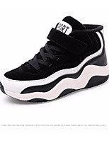 cheap -Girls' Shoes Leatherette Fall Winter Comfort Sneakers for Casual Outdoor Fuchsia Black / White Black / Yellow