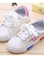 cheap -Girls' Boys' Shoes Canvas Spring Fall Comfort Sneakers for Casual Black Red Blue