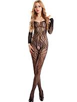 abordables -Costumes Vêtement de nuit Femme - Ouvert, Jacquard