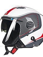 cheap -202FB Half Helmet Adults Unisex Motorcycle Helmet  Breathable