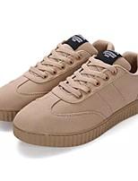 Недорогие -Муж. обувь Резина Лето Осень Удобная обувь Кеды для на открытом воздухе Черный Серый Хаки