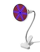 cheap -1pc 15W 1200lm E26 / E27 Growing Light Bulb 126 LED Beads SMD 5730 Blue Red 85-265V
