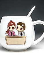 cheap -Drinkware Porcelain Mug Boyfriend Gift Heat-Insulated 1pcs