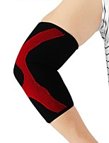 cheap -Elbow Support for Basketball Running Unisex Impact Resistant Non-Slip Sport Outdoor clothing High Quality EVA 1 pc Red
