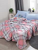 preiswerte -Gemütlich 1 Bettdecke 1 Stk. Steppdecke, Handgefertigt Reaktivdruck Schottenstoff / Kariert Sommer