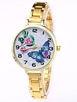 Недорогие -Жен. Кварцевый Нарядные часы Модные часы Повседневные часы Китайский Повседневные часы сплав Группа На каждый день Мода Серебристый