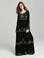 cheap -SHE IN SUN Women's Basic Boho Shift Dress - Floral