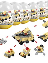 cheap -Building Blocks 230pcs Military Stress and Anxiety Relief / Parent-Child Interaction Tank Gift