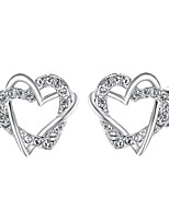 cheap -Women's Heart Stud Earrings - Bohemian / Korean Gold / Silver Earrings For Party / Gift