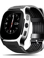baratos -Relógio inteligente Tela de toque Impermeável Pedômetros Distancia de Rastreamento Anti-lost Controle de Câmera Controle de Mensagens