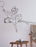 cheap -Wall Decal Decorative Wall Stickers - People Wall Stickers Photographic Removable
