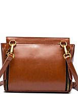 cheap -Women's Bags Shoulder Bag Zipper for Casual All Seasons Green Black Red Yellow