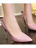 Недорогие -Жен. Обувь Полиуретан Весна / Осень Удобная обувь / Туфли лодочки Обувь на каблуках На шпильке Черный / Серый / Розовый