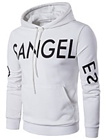 cheap -Men's Active Basic Hoodie - Letter