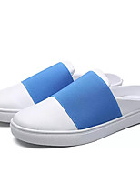 cheap -Men's Shoes PU Spring Fall Comfort Loafers & Slip-Ons for Casual White Yellow Blue