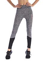 abordables -Femme Quotidien Sportif Legging - Couleur Pleine Taille médiale